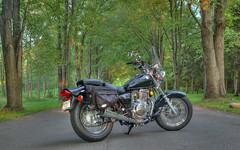 HDR Attempt 1 (GoodNightSweetArt (kyrakin)) Tags: nikond50 motorcycle hdr 3xp i500 interestingness395 suzukigz250
