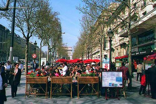 Campos Elíseos París (Foto de: krossbow)