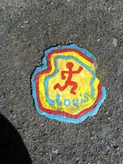 Ben's chewing gum art  - DSC00128 (rahid1) Tags: road street streetart macro london gum graffiti pavement chewinggum graff haringey muswell muswellhill chewinggumman benschewinggumart benwilson sonyericssonw810i