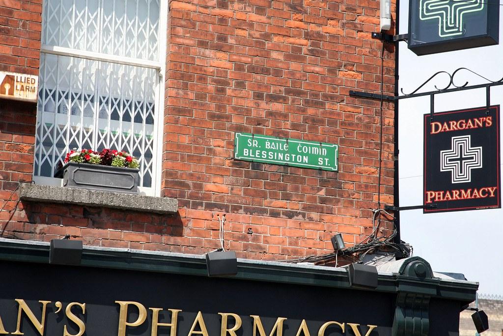 STREET SIGN - BLESSINGTON STREET