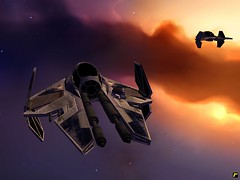 ETA2 Starfighter (Yo, minoría absoluta) Tags: game starwars screenshot mod homeworld warlords