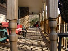 Side porch (Robert Lz) Tags: flowers rocks aroundthehouse lakelanier showyourhouse forsythcounty elzey ourhomeinsideoutsideinthewoodsoutback