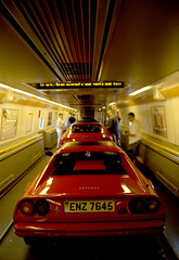 Tunnel (hedshot) Tags: red ferrari racing 328 crusing 456 testarossa 550 575 mikerawling bymichaelrawling londontotuscany grandtourismo