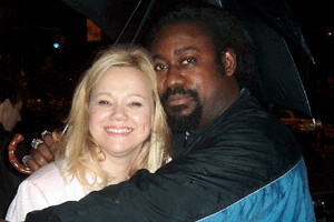 Caroline Rhea and friend