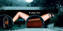 Axe Effect Tunnel (Arturo de Albornoz) Tags: ads advertising outdoors publicidad ad axe publicidadexterior