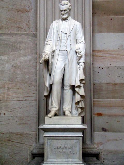 Lincoln Statue, U.S. Capitol Rotunda