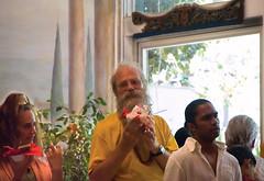 Bhagavan Das Making Puja (Jonathon Brown) Tags: ma kali goddess das hindu puja bhagavan