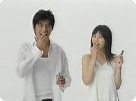 坂口憲二、夏帆_キシリトールガム『ガムはまず夏帆 篇』