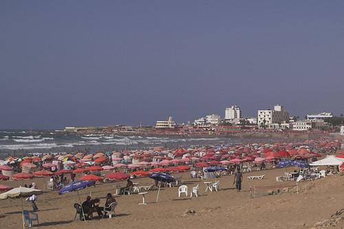 Ain Diab beach, Casablanca, Morocco por Milamber's portfolio.