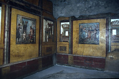 Italy - 1995  (107-05) (MacClure) Tags: italy art painting mural europe worldheritagesite pompeii fresco vetti