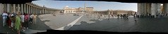 St. Peter's Square, Vatican City (nathangibbs) Tags: italy autostitch panorama vatican rome roma church europe italia cathedral canoneos10d stpeterssquare stitched stpeter vaticancity