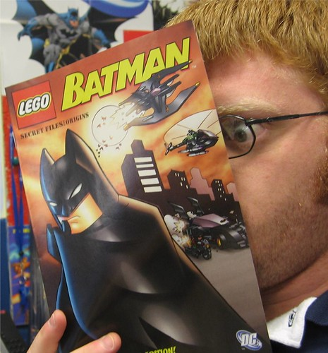 Batman + Legos = Comics Gold.