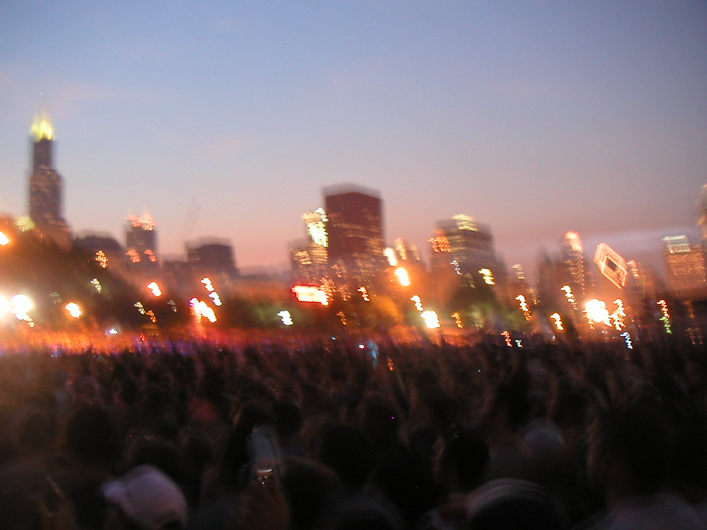 Chicago Skyline @ Lollapalooza