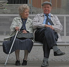 Togetherness (lucasdigital) Tags: city sheffield oldpeople lastdayofholiday