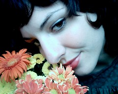 twenty three (the_doll_is_mine) Tags: birthday flowers portrait selfportrait girl face theface