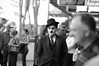 Chaplin in Brisbane (Ilford 400) (yinyang) Tags: street bw d50 exposure brisbane 85mmf18d bokehsoniceaugust bokehsoniceaugust11