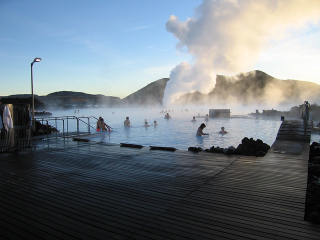 Blue Lagoon, Iceland Nov 2005