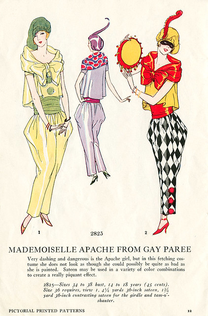 Mademoiselle Apache from Gay Paree.