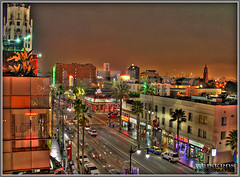 glowing lights of hollywood (Kris Kros) Tags: california ca usa public cali night photoshop stars photography evening la us losangeles high cool nikon pix boulevard nightshot dynamic cs2 walk fame ps socal hollywood kris nightlife walkoffame range hdr blvd kkg hollywoodstars photomatix pscs2 kros kriskros 5xp kk2k kkgallery