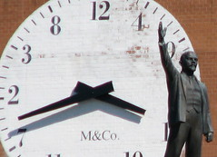 Lenin & Clock by Randy Levine, on Flickr
