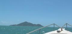 Boat to Dauan Island