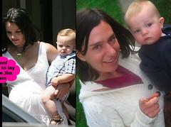 Lisa y Britney son celebridades bebés dobles