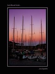 Las ltimas luces.... (smarlo) Tags: puerto atardecer zb bizkaia euskalherria vizcaya velero lekeitio smarlo
