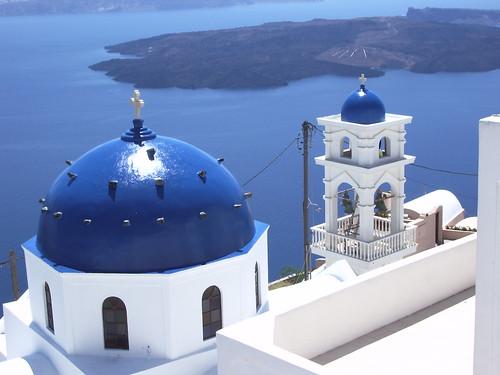 Santorini, en Grecia