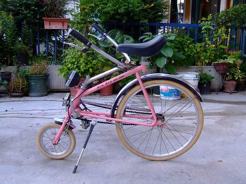 Uno strano tipo di bici