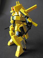 000_RevengeMachine (legovaughan) Tags: lego micro frame mecha advanced moc