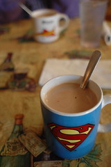 My coffee cup: Superman - by djwudi