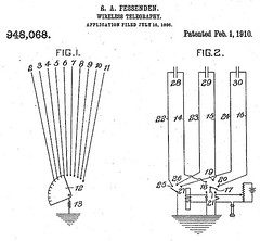 1906 Patent for Wireless Telegraphy