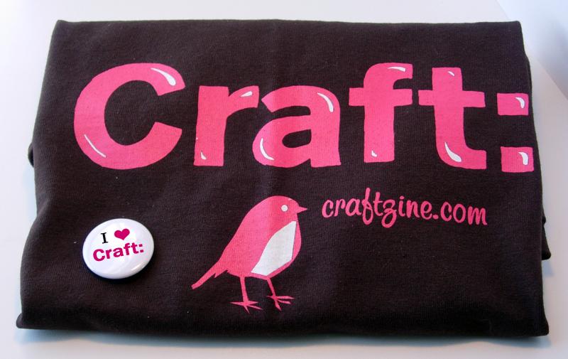 Craft: Zine T-shirt & Button