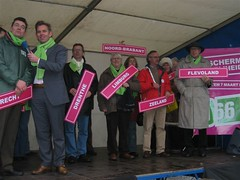 D66 in Utrecht, landelijke start PS-campagne 10-2-07 004 (Marusjka Lestrade) Tags: utrecht d66 provinciale lijsttrekkers