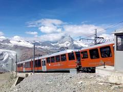 Diario de viaje: Suiza (Ana De Haro) Tags: tren switzerland suiza nieve gornergrat turismo montaas