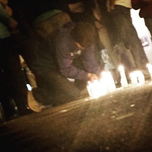 """Los tucumanos encienden una vela por """"cada voto robado"""" #tucumanazo"""