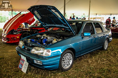1989 Ford Sierra RS Sapphire (Rivitography) Tags: blue ford car canon rebel automobile gm connecticut rally fast swedish sierra adobe american 1989 t3 expensive rs rare farmington sapphire horsepower lightroom cosworth 2015 collectorcar rivitography