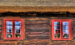 Old Wooden House Architecture Poland (Ted Dobosz) Tags: old windows architecture canon wooden sigma poland polish 1224mm hdr 6d