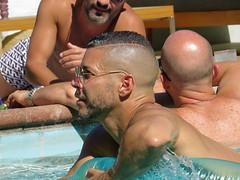 IMG_0266 (danimaniacs) Tags: shirtless man hot guy beard hunk swimmingpool stud scruff