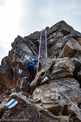Httenweg Mischabelhtte (Unliving Sava) Tags: summer mountains alps montagne schweiz switzerland suisse hiking bergen alpen wallis ch valais zwitserland klettersteig viaferrata saasfee mischabel httenweg saastal mischabelhtte