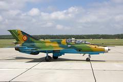 MiG-21 Romania (Rob Schleiffert) Tags: lancer mig mig21 fishbed kecskemet romanianairforce