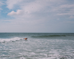 My father-in-law catching a wave (bdunn829) Tags: beach water waves ride northcarolina outerbanks frisco obx boogieboard frisconc