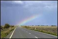 Rainbow on Menindee Plains-1= (Sheba_Also 11,000,000 + Views) Tags: rainbow nsw plains menindee