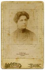 Portrait by Pittoni - Trieste (spadon75) Tags: italy italia cdv kuk trieste austriahungary friuliveneziagiulia alfonsopittoni