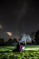 Picnic at Night (MrDiscoDucks) Tags: wisconsin night way lens stars landscape outside nikon long exposure picnic tripod tokina brenden astrophotography midnight flashlight amateur milky f28 fleming 1116mm d3300 mrdiscoducks