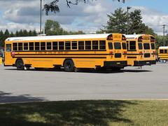 Mt. Vernon Community School Corporation (Nedlit983) Tags: blue school bus bird all american t3 fe