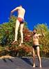 IMG_7016 (danimaniacs) Tags: shirtless man hot sexy guy beard fun jump trampoline trunks speedo swimsuit stud scruff bulge