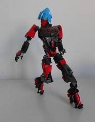 the blazing Dhrenia V2 (Loysnuva) Tags: woman anime sexy girl female fire factory lego system technic hero bionicle spear moc blazing loys nuva ccbs bionifigs loysnuva dhrenia