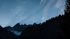 Martinsloch und Heissluftballone (swissgoldeneagle) Tags: mountain mountains alps berg sunrise balloons switzerland hotair balloon berge d750 hotairballoon alpen hotairballons elm hotairballoons sonnenaufgang glarus 16x9 hotairballon heissluftballon martinsloch heissluftballone