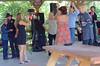 (These people were wonderfully drunk...) (Jim R. Harris) Tags: shortskirts weddingreceptions bikerbars